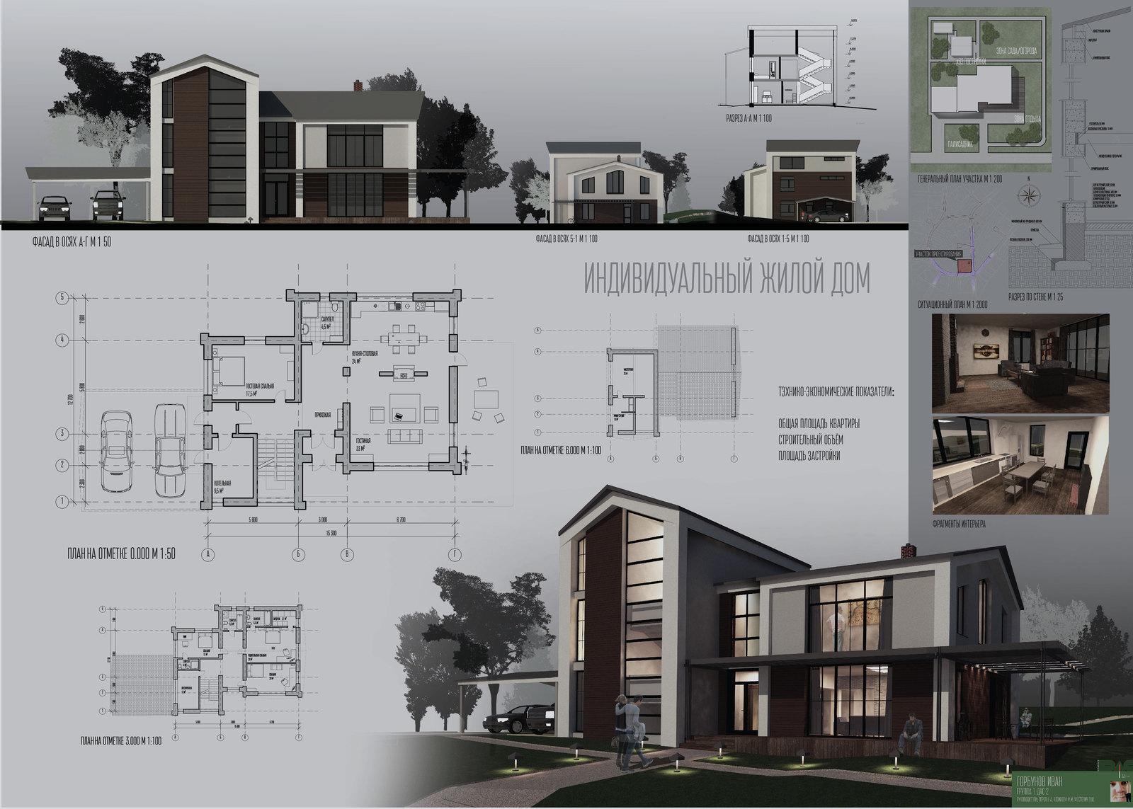 Проектик Проектик архитектура проект жилой дом спбгасу